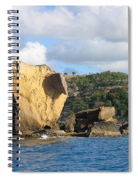 Antigua - Aliens Spiral Notebook