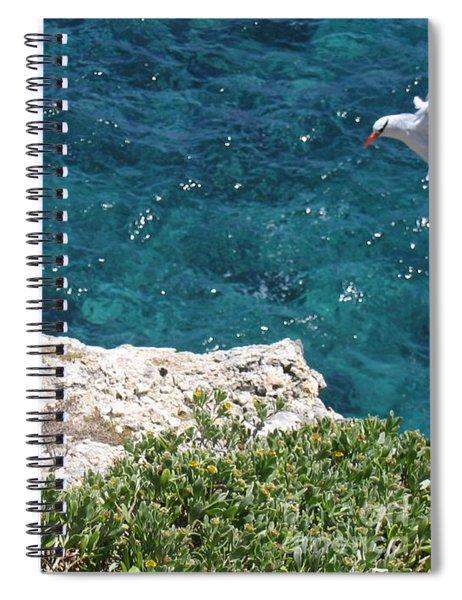 Antigua - Flight Spiral Notebook