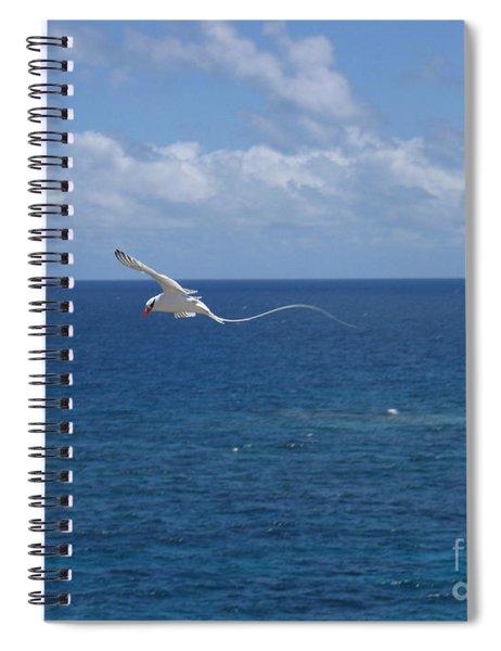 Antigua - In Flight Spiral Notebook