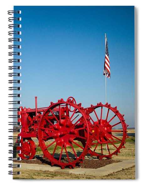 Antique Farm Tractor 1 Spiral Notebook