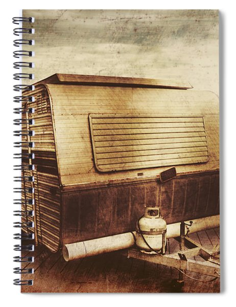 Antique Holidays Spiral Notebook by Jorgo Photography - Wall Art Gallery