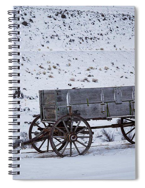Antique Wagon Spiral Notebook