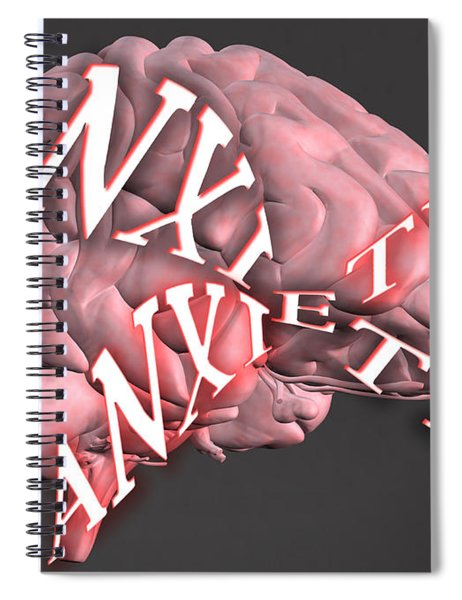 Anxiety Spiral Notebook