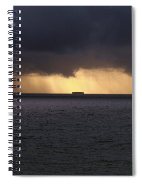 Any Port In A Storm Spiral Notebook
