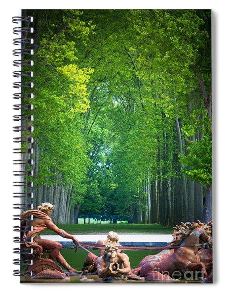 Apollo Fountain Spiral Notebook