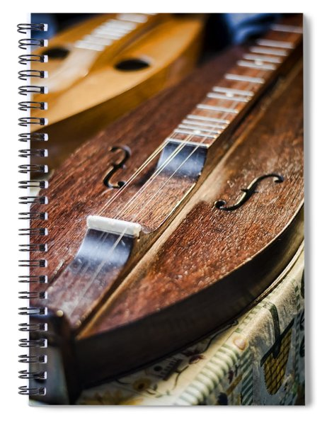 Appalachian Dulcimer Spiral Notebook