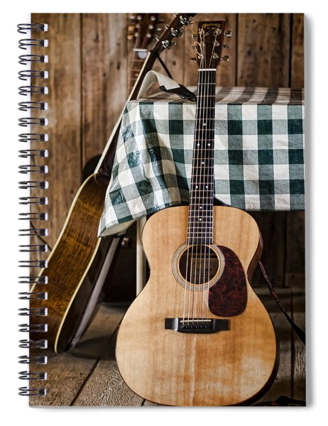 Appalachian Music Spiral Notebook