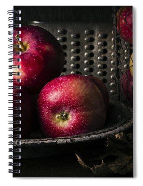 Apple Harvest Spiral Notebook