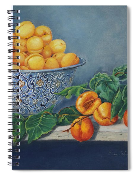 Apricots And Peaches Spiral Notebook