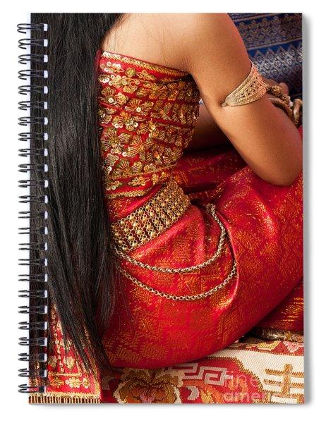 Apsara Dancer 03 Spiral Notebook