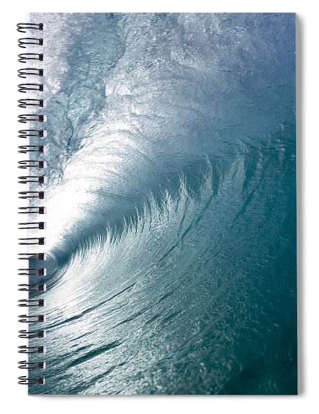 Aqua Curl Spiral Notebook