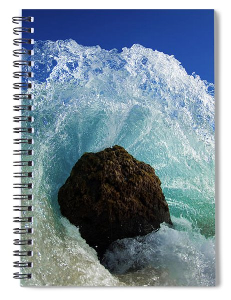 Aqua Dome Spiral Notebook