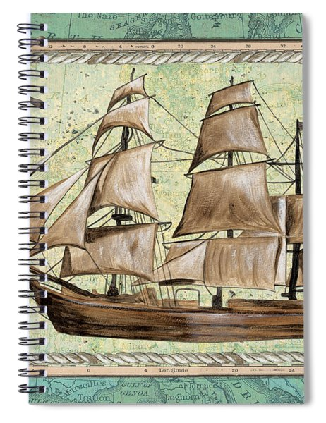 Aqua Maritime 1 Spiral Notebook