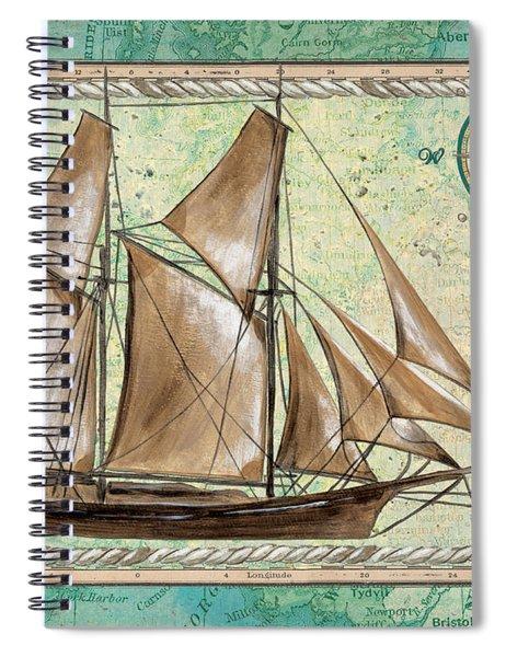 Aqua Maritime 2 Spiral Notebook