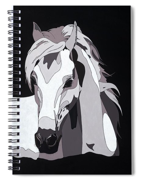 Arabian Horse With Hidden Picture Spiral Notebook