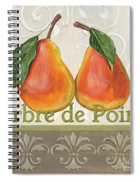 Arbre De Poire Spiral Notebook