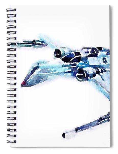 Arc-170 Starfighter Spiral Notebook