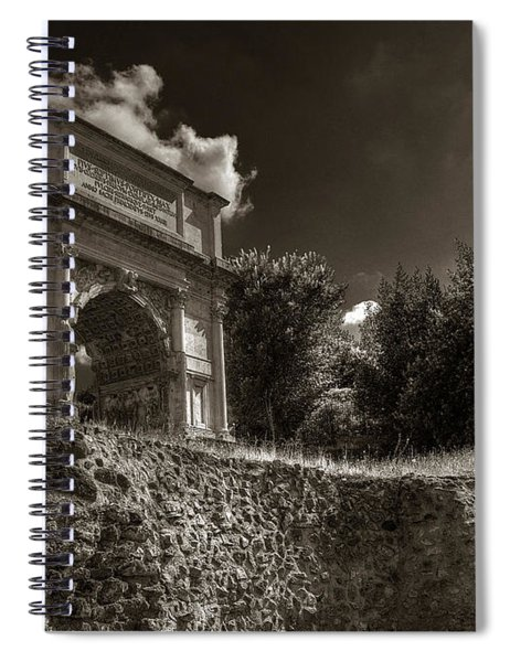 Arch Of Titus Spiral Notebook