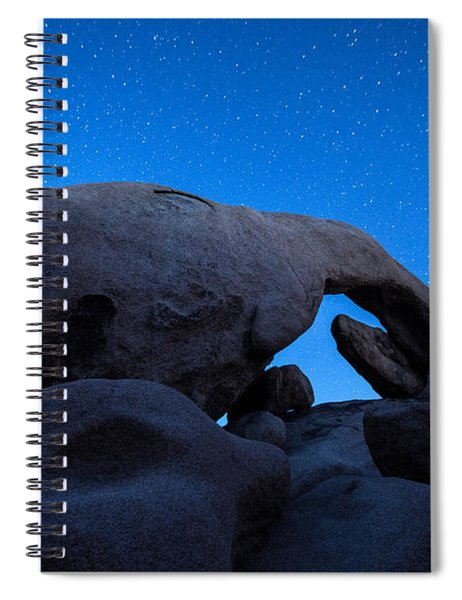 Arch Rock Starry Night 2 Spiral Notebook