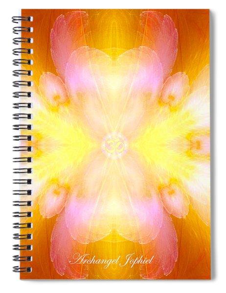 Archangel Jophiel Spiral Notebook