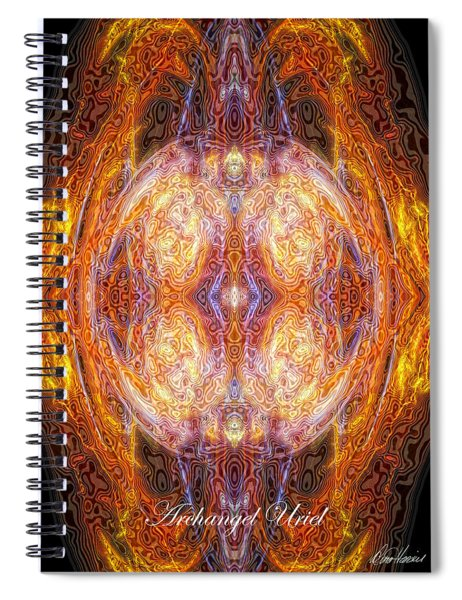 Archangel Uriel Spiral Notebook