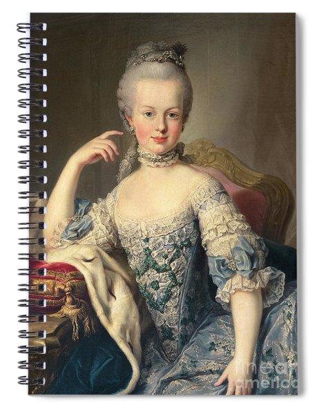 Archduchess Marie Antoinette Habsburg-lotharingen Spiral Notebook