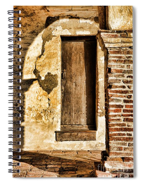 Arched Shadow By Diana Sainz Spiral Notebook