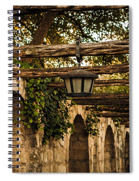 Arches At The Alamo Spiral Notebook