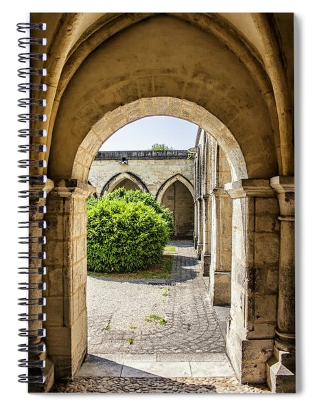 Arches In Perigueux Spiral Notebook