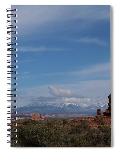 Arches National Monument Spiral Notebook