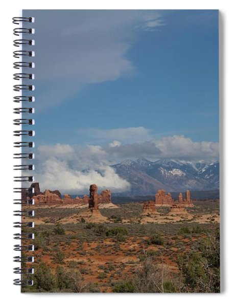 Arches National Monument Utah Spiral Notebook