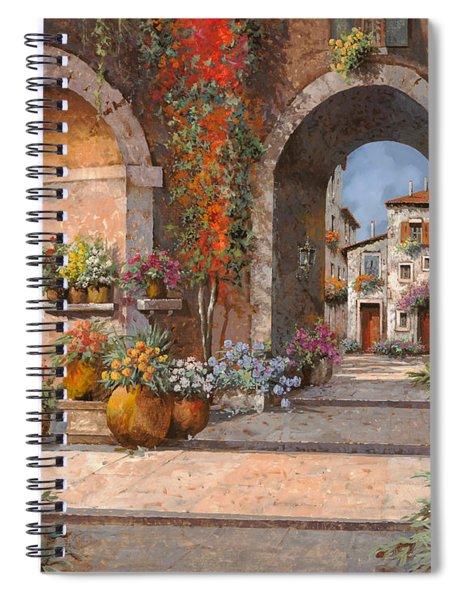 Archi E Sotoportego Spiral Notebook