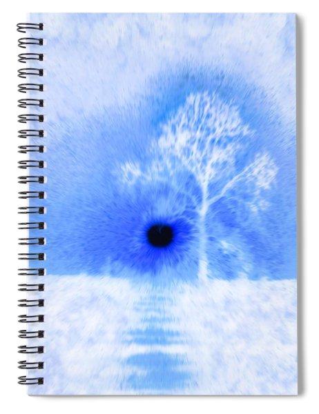 Arctic Blast Spiral Notebook