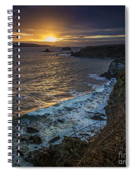 Ares Estuary Mouth Galicia Spain Spiral Notebook