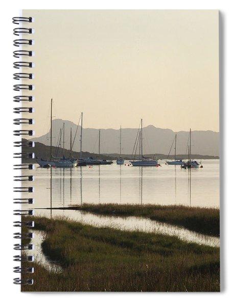 A Peaceful Evening At Arisaig Spiral Notebook