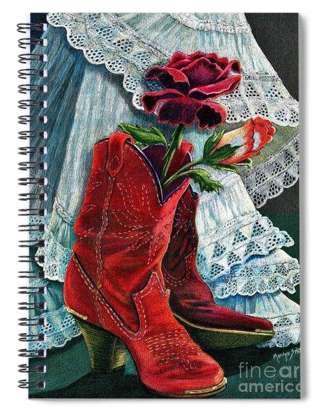 Arizona Rose Spiral Notebook