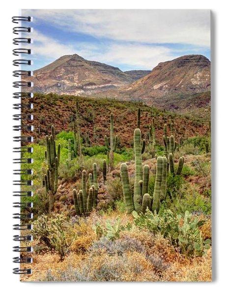 Arizona Springtime Spiral Notebook