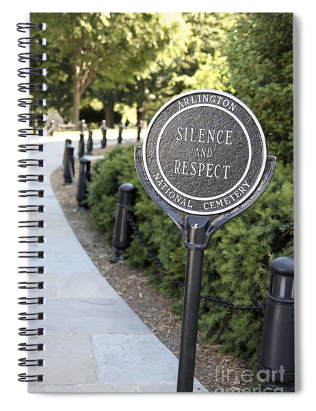 Arlington National Cemetery Rule Spiral Notebook