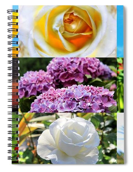 Aroma Therapy By Julia Fine Art Spiral Notebook