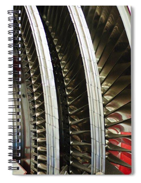 Around And Around Spiral Notebook