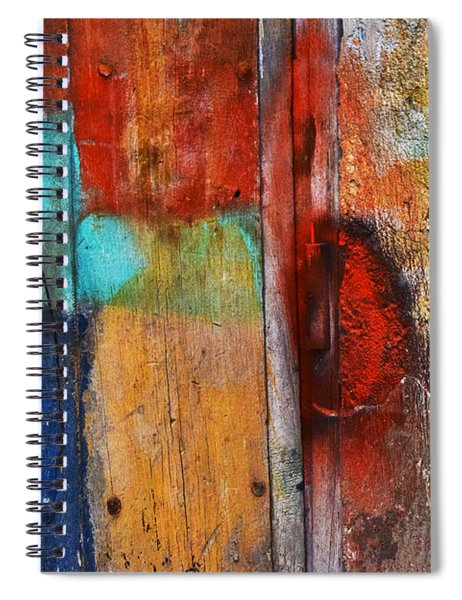 Spiral Notebook featuring the photograph Arpeggio by Skip Hunt