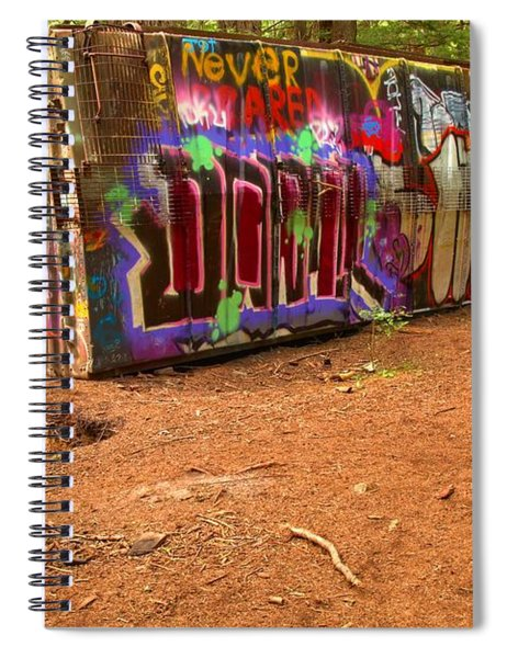 Art Along The Cheakamus River Spiral Notebook