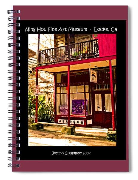 Art On River Road Locke Ca Spiral Notebook