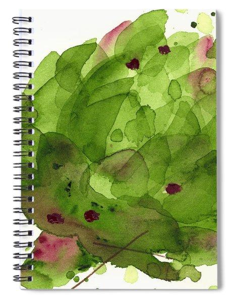Artichoke II Spiral Notebook