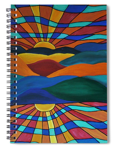 As Above So Below Spiral Notebook