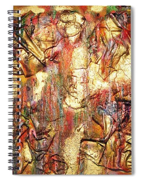 As Good As Gold Spiral Notebook