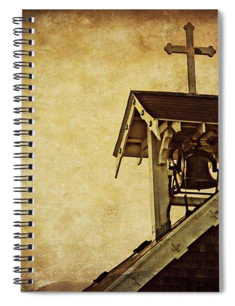 As The Bell Tolls  Spiral Notebook