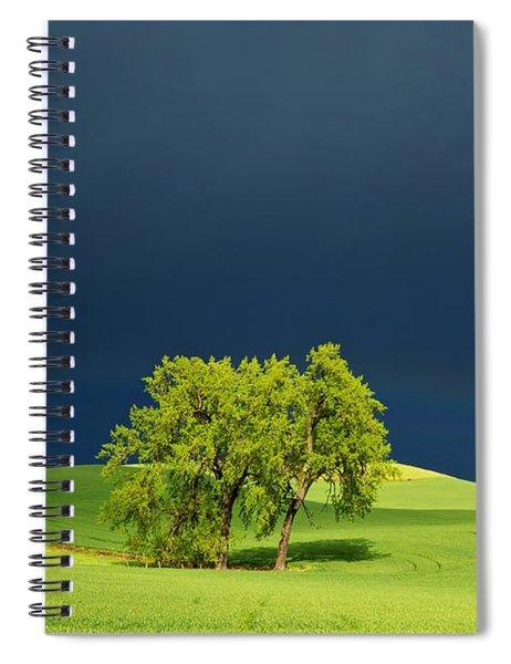 As The Sun Returns Spiral Notebook