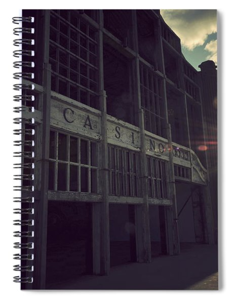 Asbury Park Nj Casino Vintage Spiral Notebook