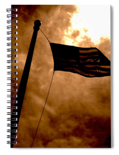 Ascend From Darkness Spiral Notebook